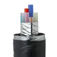 "3/8"" by 3/4"", PVC-Jacketed trunkline"