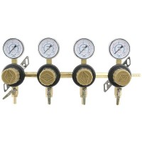 Secondary Regulator, CO2, 4-Way